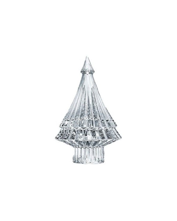 Baccarat Crystal Noel mille Nuits FIR Clear Christmas Tree figurine