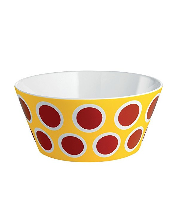 Alessi MW60 2 Circus Ciotola in Bone China, Multicolore