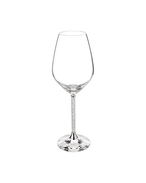 Swarovski Wine Glasses, Set of 2 Crystalline Red Wine