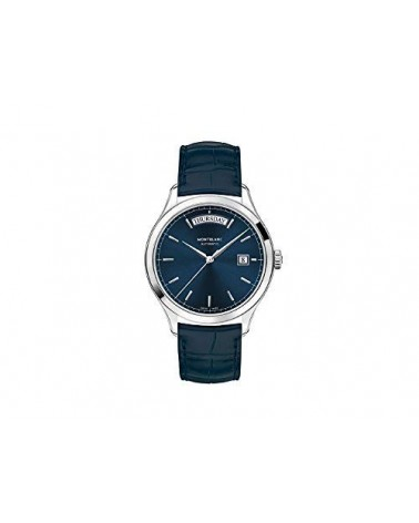 Montblanc Heritage Automatic Chronometrie/Quadrante blu/Diametro: 38mm/ Blue Alligator Strap