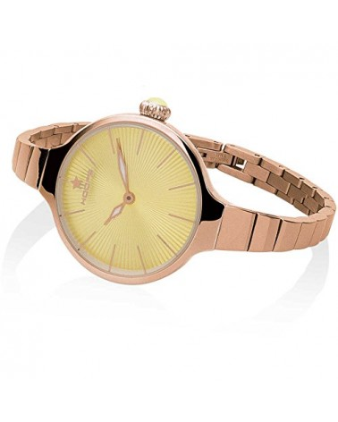 Orologio Donna Chérie Midi Rose Gold Giallo 2584LC-RG10 - Hoops