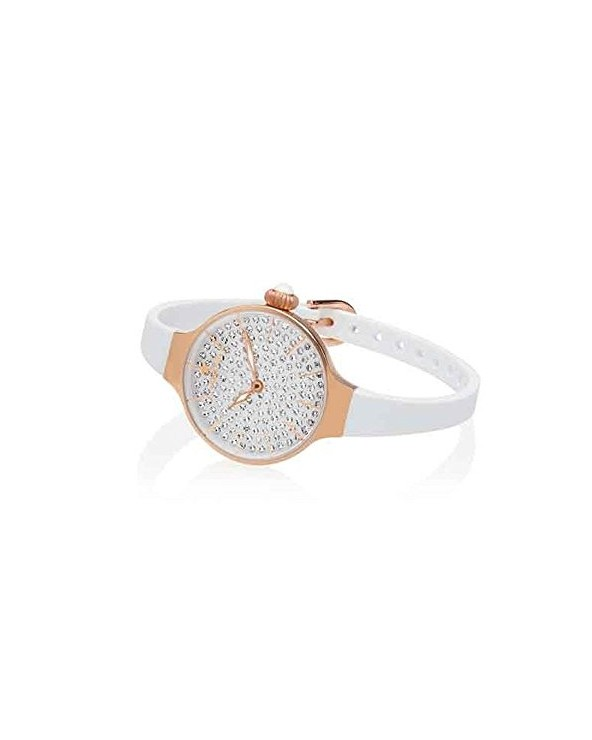 Orologio Donna Chérie Diamond 160 Rose Gold Bianco Hoops