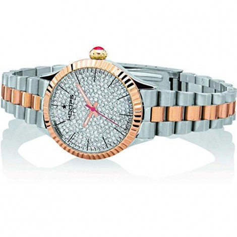 orologio solo tempo donna Hoops Luxury trendy cod. 2608-SRG
