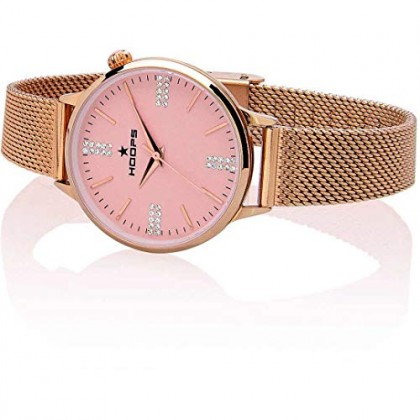 HOOPS OROLOGIO CLASSIC CHIC GOLD MAGLIA MILANESE CIPRIA 2610LD-RG03