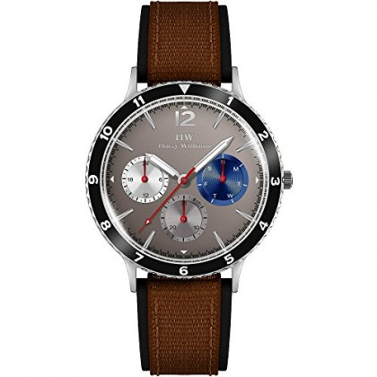 Uomo Harry CodHw Orologio Multifunzione 2576m10 Casual Williams FKcJTl1