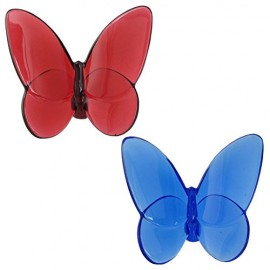 Baccarat Papillon Butterfly Lovers Set Due Farfalle 2812470