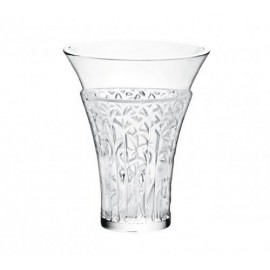 Lalique Ibis vase Clear crystal