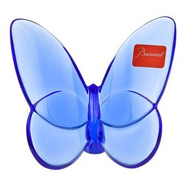 Baccarat Crystal Lucky Butterfly Sapphire 2102546 by Baccarat