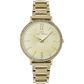 orologio solo tempo donna Harry Williams Mayfair casual cod. HW-2590L/02M