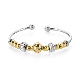 Bracciale Bangle rigido composto donna con charms BROSWAY BTJMS625