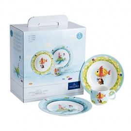 Villeroy & Boch Chewy Around The World Set, 3 Pezzi, Premium Porcellana